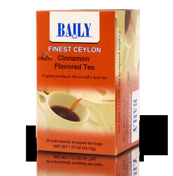 Cinnamon flavored tea
